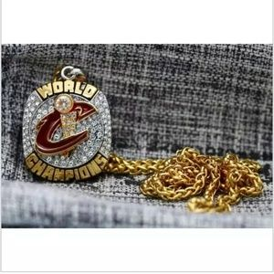 Jewelry - Cleveland Cavaliers Championship Gold Necklace